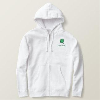 Ireland Irish Embroidered Hoodie