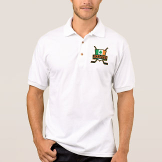 Ireland Irish Ice Hockey Logo Polo Shirt