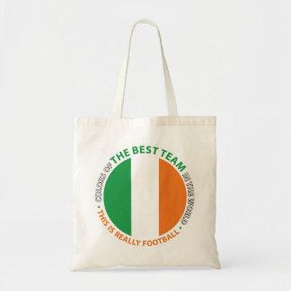 Ireland Irlanda Art Shield Bolsa Lienzo
