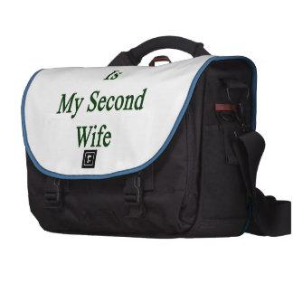 Ireland Is My Second Wife Computer Bag