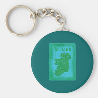 Ireland Key Ring