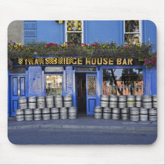 Ireland, Kilkenny. Exterior of pub with beer Mouse Mat