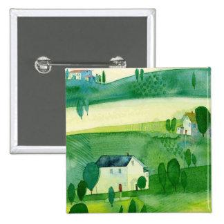 Ireland Landscape Button