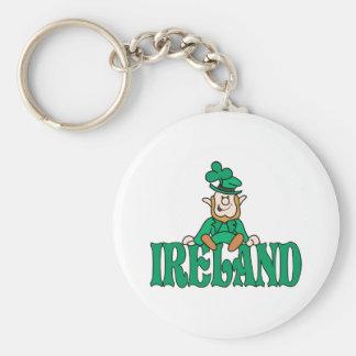 Ireland Leprechaun Keychain