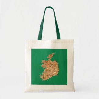 Ireland Map Bag