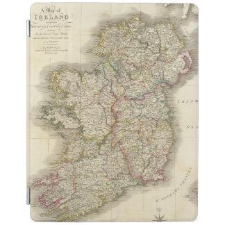 Ireland map iPad cover