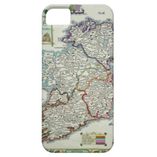 Ireland Map - Irish Eire Erin Historic Map Barely There iPhone 5 Case