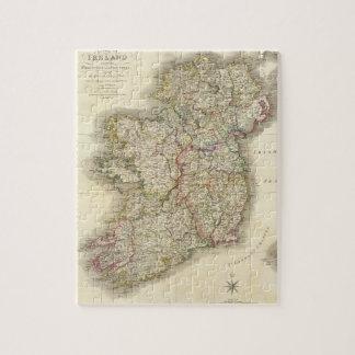 Ireland map jigsaw puzzle