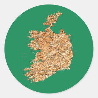 Ireland Map Sticker