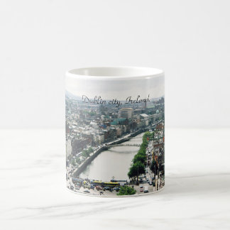 Ireland mug, Dublin city skyline Coffee Mug