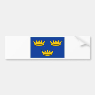Ireland Munster Flag Bumper Sticker