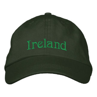 IRELAND Name Designer Cap Embroidered Cap