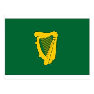 Ireland Naval Jack Postcard
