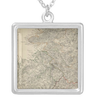 Ireland, north sheet silver plated necklace