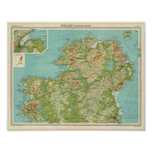 Ireland northern section poster