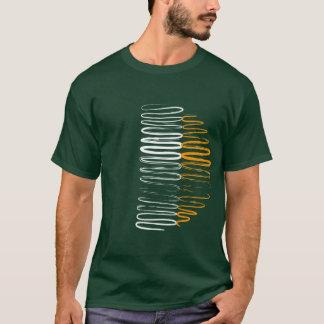 Ireland on Green Tee Shirt