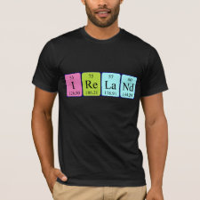 Ireland periodic table shirt