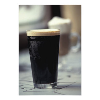 Ireland. Pint of stout. Photo Print