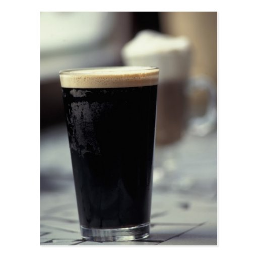 Ireland. Pint of stout. Post Cards