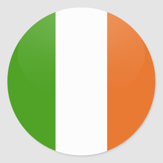 Round Stickers Ireland