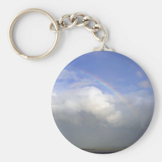 Ireland Rainbows Couds Sky Key Ring