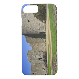 Ireland, Roscommon. View of ruins of Roscommon iPhone 8/7 Case