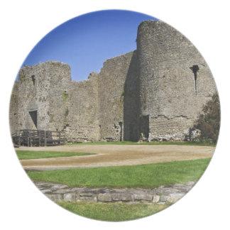 Ireland, Roscommon. View of ruins of Roscommon Plate