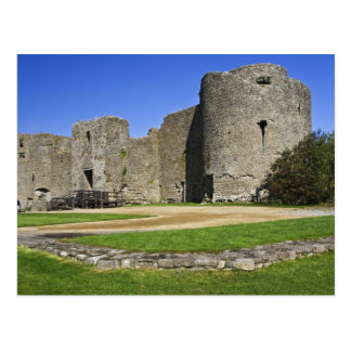 Ireland, Roscommon. View of ruins of Roscommon Postcard