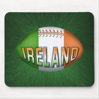 Ireland Rugby Ball Mouse Mat
