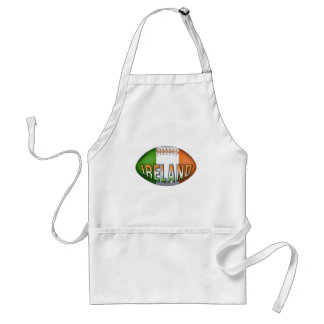 Ireland Rugby Ball Standard Apron