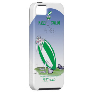 ireland rugby put the boot in, tony fernandes tough iPhone 5 case