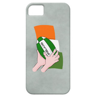 Ireland Rugby Team Supporters Flag With Ball iPhone 5 Cases