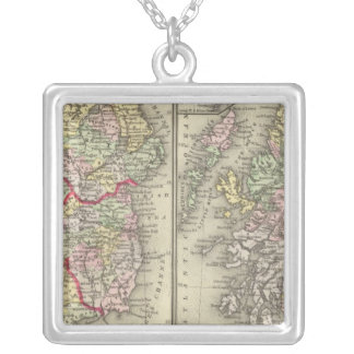 Ireland, Scotland Silver Plated Necklace