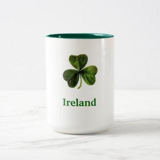 Ireland Shamrock - Coffee Mug (Large)