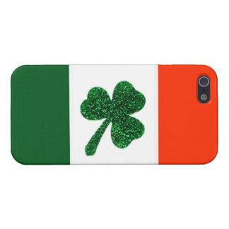 Ireland Shamrock Flag iPhone Case Savvy iPhone 5 Case