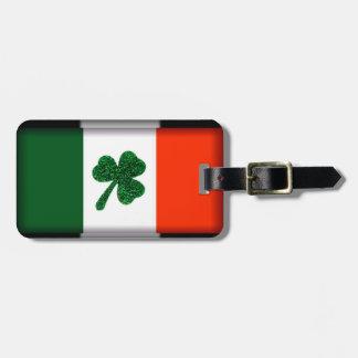 Ireland Shamrock Flag Luggage Tag