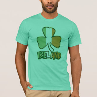 Ireland Shamrock Flag T-Shirt