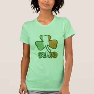 Ireland Shamrock Flag Shirts