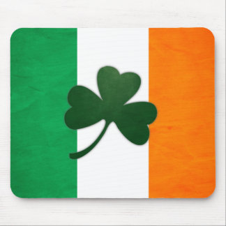 Ireland Shamrock Mousepad