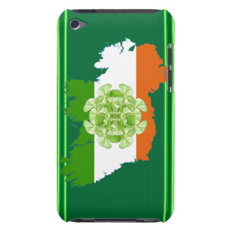 Ireland Shamrock Spin Barely There iPod Cases