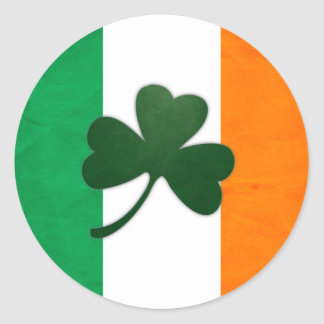 Ireland Shamrock Sticker
