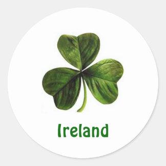 Ireland Shamrock - Sticker