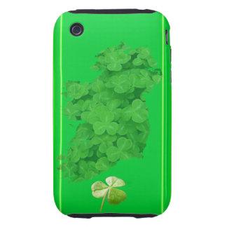 Ireland Shamrock Stripes Tough iPhone 3 Case