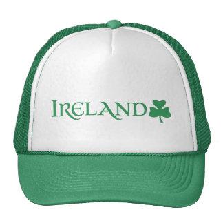 Ireland Shamrock Symbol Irish Pride Cap