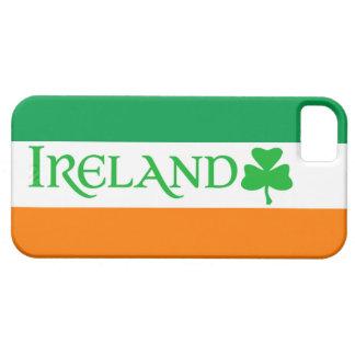 Ireland Shamrock Symbol on Irish Flag Colors Case For The iPhone 5