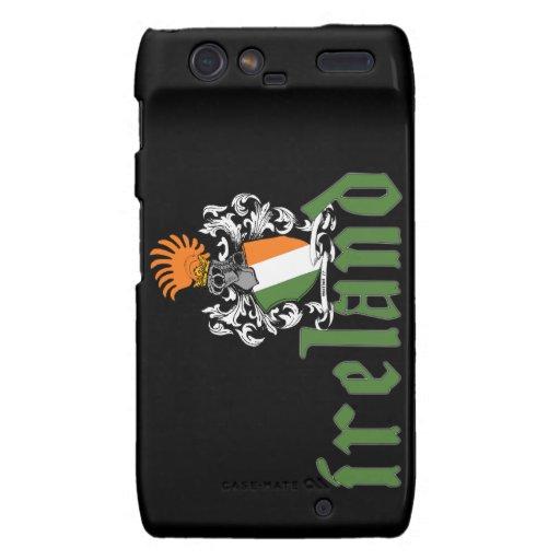 Ireland Shield Motorola Razr case Motorola Droid RAZR Cover