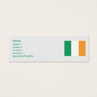 Ireland - Skinny Mini Business Card