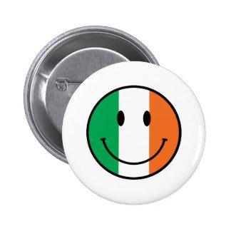 Ireland Smiley 6 Cm Round Badge
