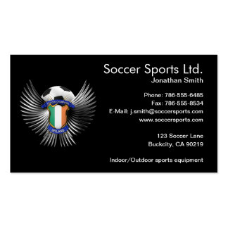 Ireland Soccer Champions Business Cards