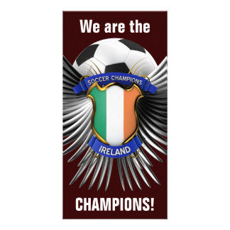 Ireland Soccer Champions Picture Card